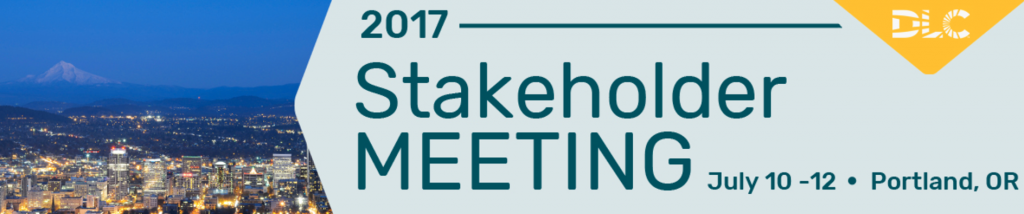 DLC Stakeholder Meeting July 2017
